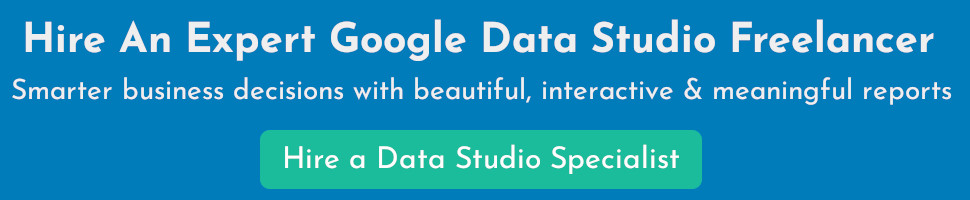Hire a Google Data Studio Specialist
